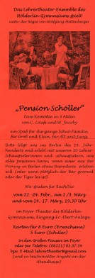 Flyer Pension Schöller