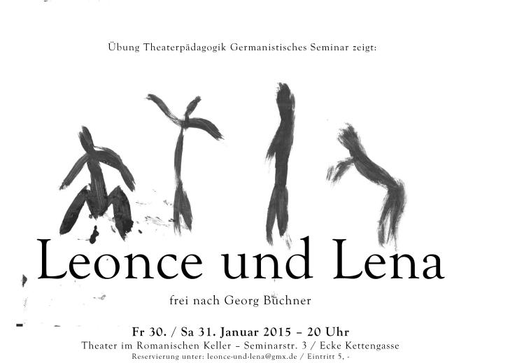 Leonce und Lena, Plakat