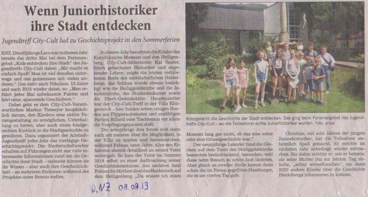 RNZ Stadtkids 08.08.2019